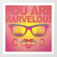 Marvelous Art Print