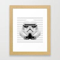 Star Wars - Stormtrooper Framed Art Print