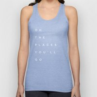 The Places You'll Go II Unisex Tank Top