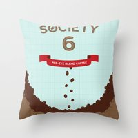 S6 Red-Eye Blend  Throw Pillow