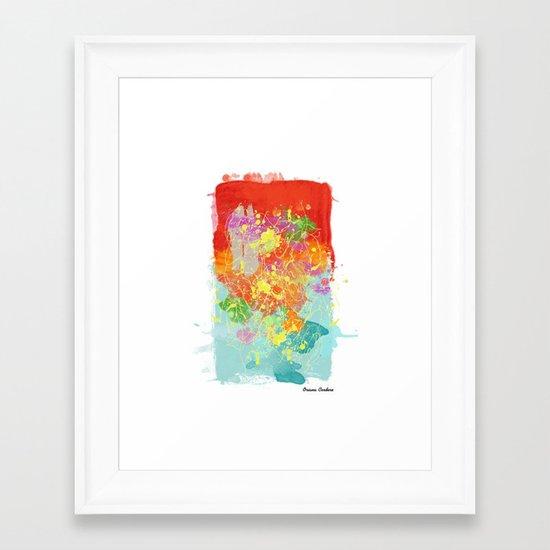 Color Tribute  Framed Art Print