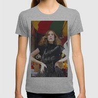 Disorient Womens Fitted Tee Athletic Grey SMALL