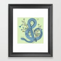 Music Of The Serpent Framed Art Print