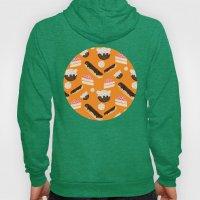 sweet things (on orange) Hoody