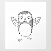 Little Wings Art Print