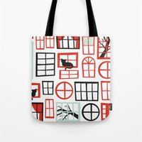 Doors and Windows Tote Bag
