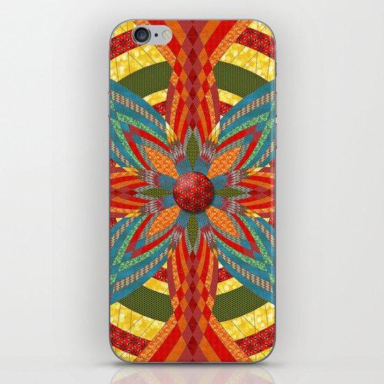 Thistle Pattern iPhone & iPod Skin