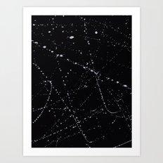 Dazed + Confused [Black] Art Print