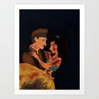 Quineanera Art Print