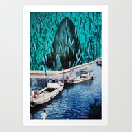 Fish Festival Art Print