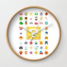 Power Ups! Wall Clock