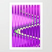 Get Away - Digital Abstr… Art Print