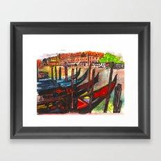Paradisal Venice Framed Art Print