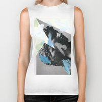 Untitled (Painted Composition 1) Biker Tank