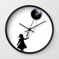 The Girl That Holds The … Wall Clock