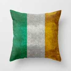 National Flag Of The Rep… Throw Pillow