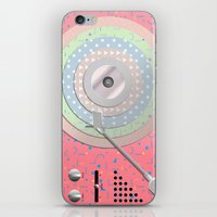 Vinyl-Turntable iPhone & iPod Skin
