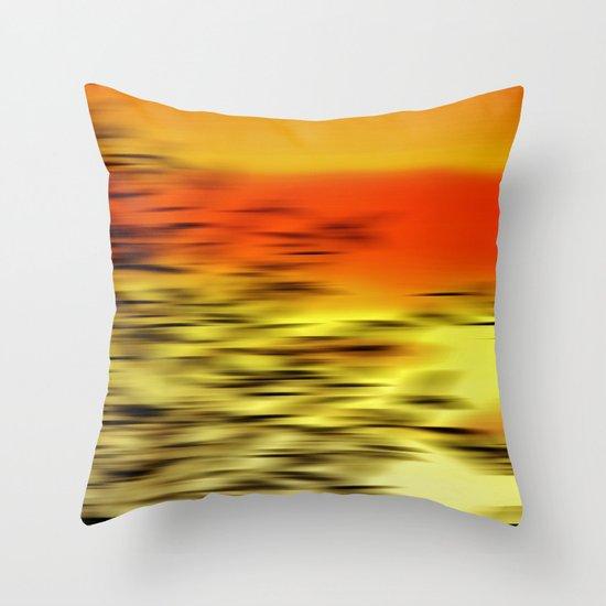 Warm whisper Throw Pillow