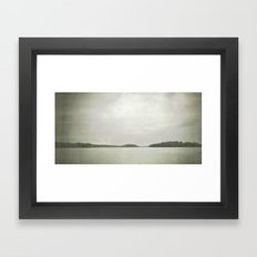 lake life Framed Art Print