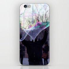 The Bubble Maker iPhone & iPod Skin