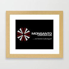 Corporate Evil Framed Art Print