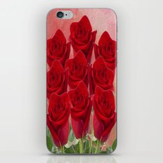 Love - Red Roses iPhone & iPod Skin