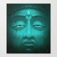 Buddha I. Canvas Print