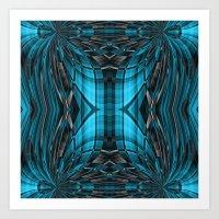 Mandala art2 Art Print