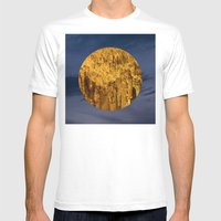 Little Planet #04 Mens Fitted Tee White SMALL