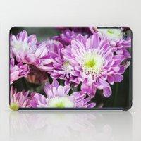 Purple Flowers iPad Case