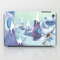 The Monstrous Mountains iPad Case