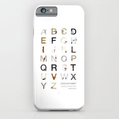 Dog Alphabet iPhone 6 Slim Case