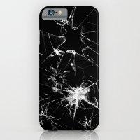 Shatterd+black iPhone 6 Slim Case