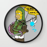 The Simpsons: Legend of Zel... er- D'OH! Wall Clock