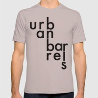Urban Barrel Type Mens Fitted Tee Cinder SMALL