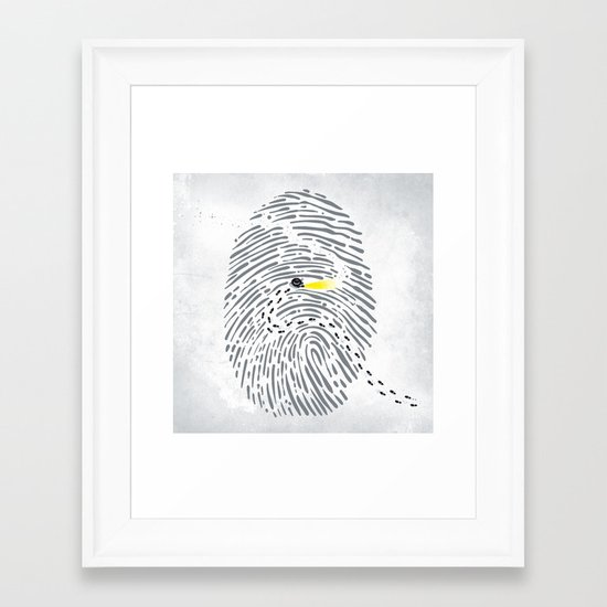 Hot Scent Framed Art Print