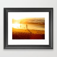 Sunny Dream Framed Art Print