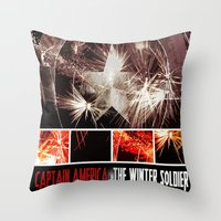 Captain America: The Win… Throw Pillow