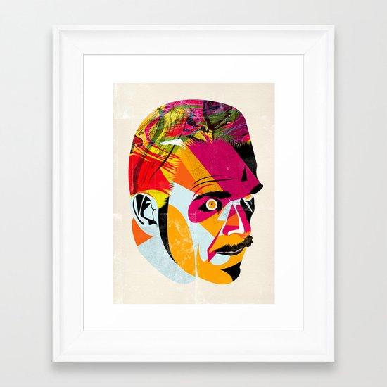 head_131112 Framed Art Print