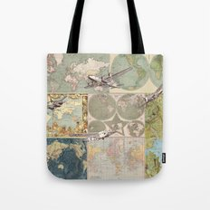 Flight Patterns Tote Bag