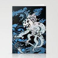 Interdimensional Icthy-demon Stationery Cards