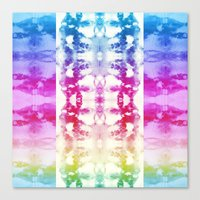 Tie Dye Rainbow Canvas Print