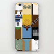 iPhone & iPod Skin featuring Star Wars by Adrian Mentus