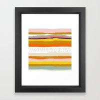 Hooked Wild Framed Art Print