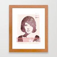 Beauty is Fleeting #1 Framed Art Print