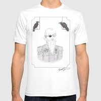 Odin Mens Fitted Tee White SMALL