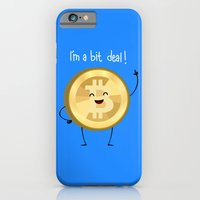 iPhone & iPod Case featuring Bit Deal! by AnishaCreations