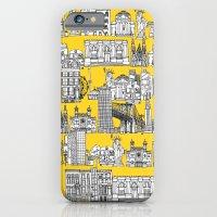 New York yellow iPhone 6 Slim Case