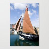 Sail France Canvas Print
