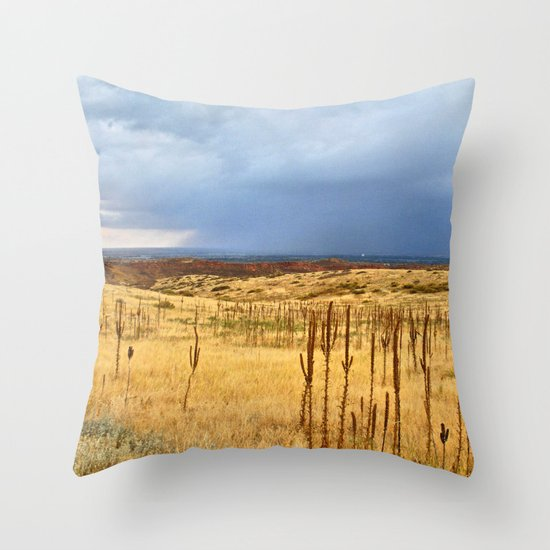 Horsetooth Hills Throw Pillow